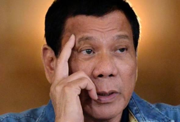Duterte ancam 'baham' kumpulan pengganas hidup-hidup