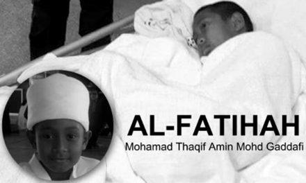 PELAJAR TAHFIZ MOHAMAD THAQIF AMIN MENINGGAL DUNIA