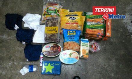 Bapa Ditangkap Kerana Mencuri Makanan Dan Keperluan Sekolah Anak