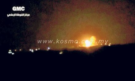 Lapangan terbang Damsyik dibom