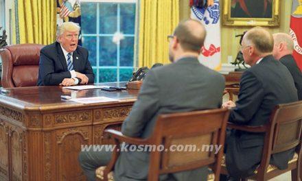 Tugas Presiden amat berat – Trump