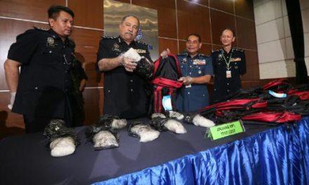 RM81j dadah dirampas setakat 13 April