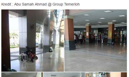 Biarkan Pelawat Hospital Duduk Atas Lantai, Ini Jawapan Doktor Malaysia