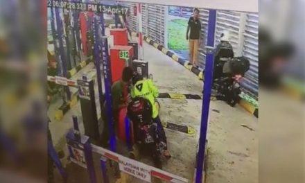 Viral jurutera rebah di lorong M-Bike