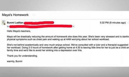 Anak murung dek kerja rumah, ibu beri kata dua kepada guru