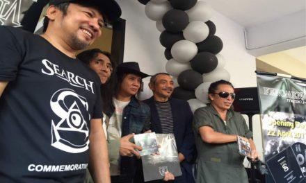 Search pilih album Fenomena untuk diabadikan dalam piring hitam