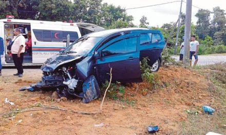 Kotak Tisu Punca Warga Emas Maut, Suami Cedera Dalam Kemalangan
