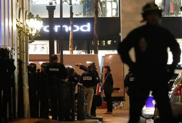 Anggota polis maut, dua cedera dalam insiden tembakan di Paris