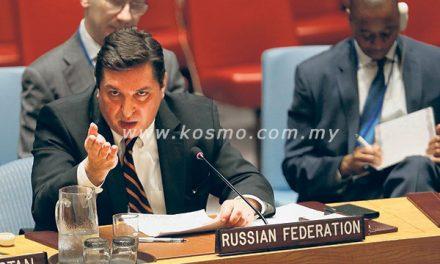 Rusia halang PBB siasat senjata kimia Bashar