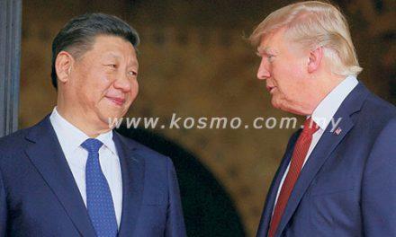 Trump dakwa beliau 'serasi' dengan Jinping