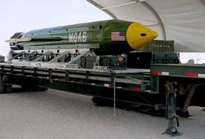 AS jatuhkan 'ibu segala bom' buat kali pertama di Afghanistan