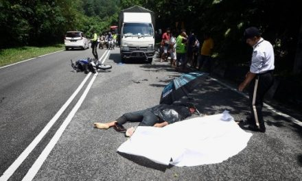 Lelaki warga Indonesia maut kemalangan