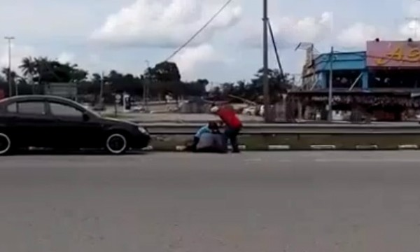 Polis tahan lelaki pukul isteri guna kasut