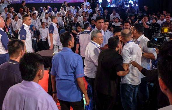 David Teo ditampar – kecoh di Seri Perdana