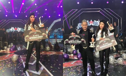 Mel juara Rockanova, bawa pulang RM80,000