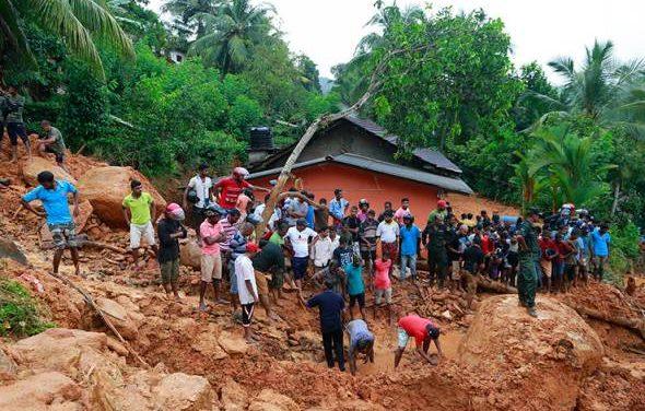 Bencana tanah runtuh Sri Lanka: Sekurang-kurangnya 25 maut, ramai lagi hilang