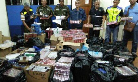 AKSEM rampas rokok tak sah hampir RM170,000