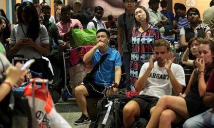Kira-kira 40 penerbangan di Terminal 2 Lapangan Terbang Changi terjejas akibat kebakaran kecil