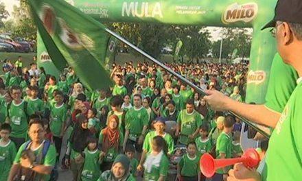 Hari Sarapan Terbesar Milo catat penyertaan 60,000 orang