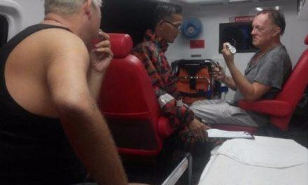 2 warga Britain cedera kenderaan terhumban ke gaung