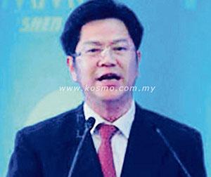 Timbalan Gabenor China terima rasuah RM62 juta dipenjara seumur hidup