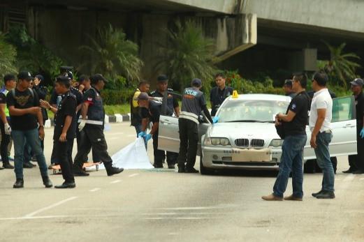 Polis tembak mati 3 penjenayah