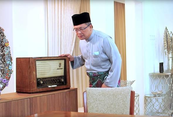 Ucapan Hari Raya 'Team RD' Rahman Dahlan tampilkan kelainan