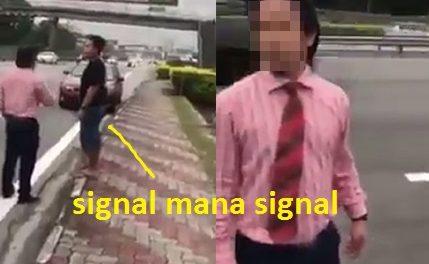 Tak Bagi Lampu Signal Semasa Menukar Laluan, Lepas Tu Salah Kan Orang Yang Langgar