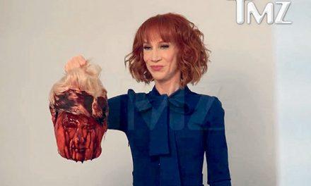 CNN pecat Griffin selepas bergambar dengan wajah berdarah  Presiden AS