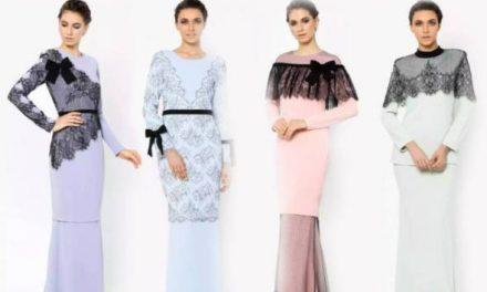 Lima trend popular kuasai fesyen raya 2017