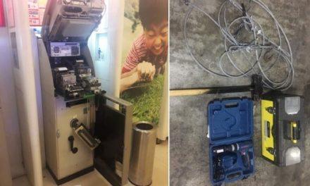 Cubaan pecah mesin ATM gagal, 3 lelaki ditahan