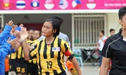 Kenali Kapten Pasukan Bola Sepak Wanita Bawah-14 Malaysia Hellma Emily Joinin!