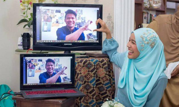 Moden Habis Tunang Guna Laptop, Majlis Wanita Ini Jadi Bualan Netizen