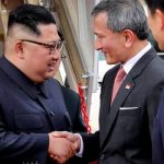 North Korea's Kim lands in Singapore, on cusp of making history
