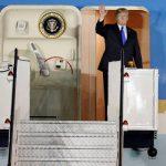 Donald Trump tiba di Singapura