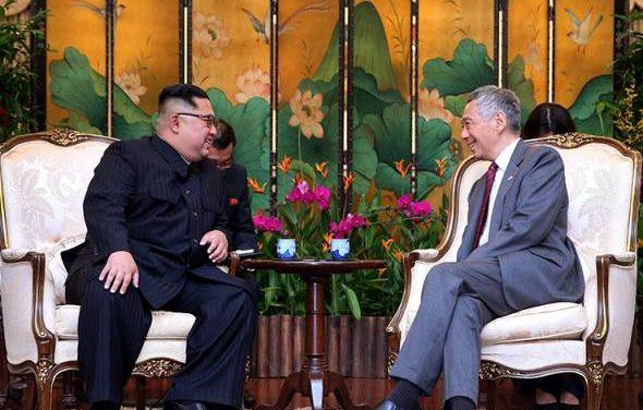 Lee ucap selamat berjaya kepada Kim sempena sidang kemuncak 'damai nuklear'